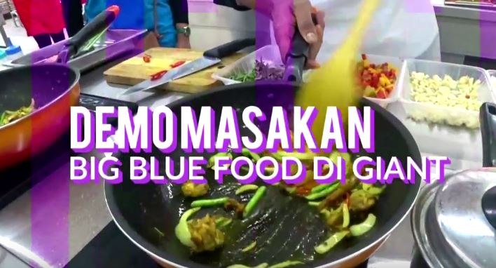 Promo Masakan Percuma BIG BLUE FOOD