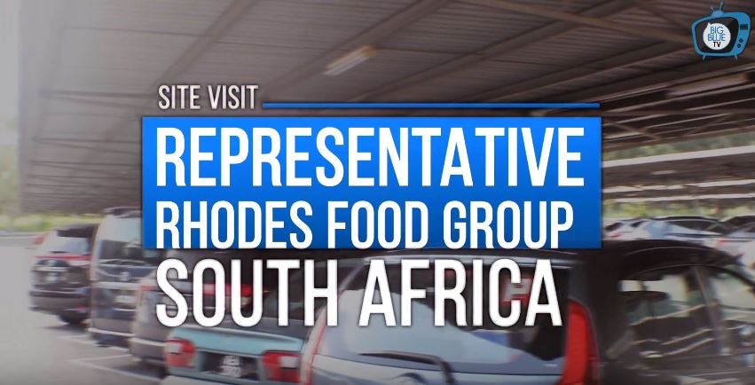Site Visit Representative Rhodes Food Group, South Africa (Big Blue Food)